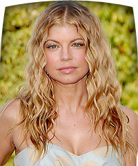 Fergie's hairstyles