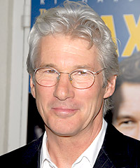 Richard Gere hairstyles