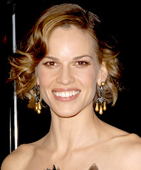 Hilary Swank hairstyles