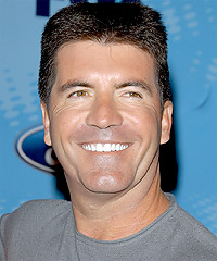 Simon Cowell hairstyles