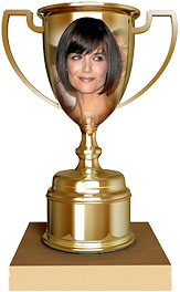 Katie Holmes trophy