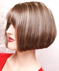 Salon Hairstyle: Straight Medium