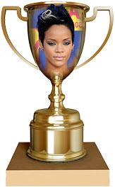 Rihanna trophy