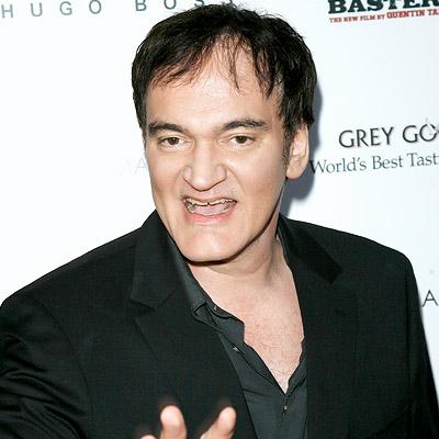 Quentin Tarantino hairstyles