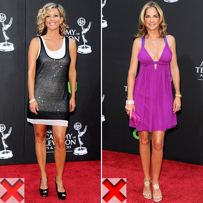 Laura Wright and Kassie Depaiva hairstyles