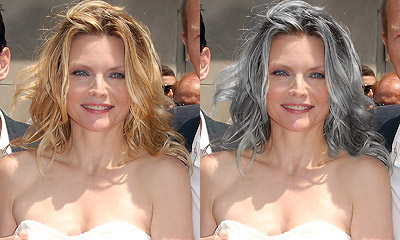 Michelle Pfeiffer hairstyles