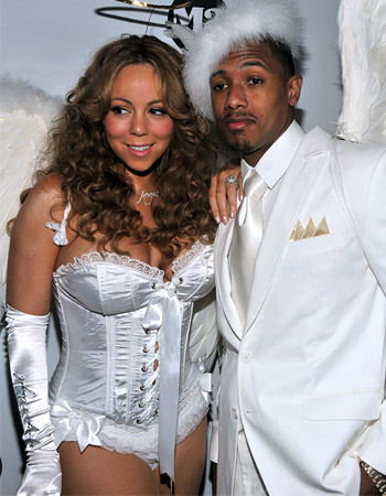 Mariah Carey and Nick Cannon hairstyles