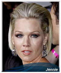 Jennie Garth hairstyles