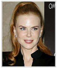 Nicole Kidman hairstyles