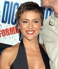 Alyssa Milano's hairstyles