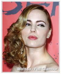Melissa George hairstyles