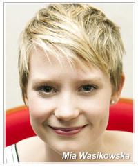 Mia Wasikowska hairstyles