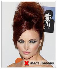 Maria Kanellis hairstyles