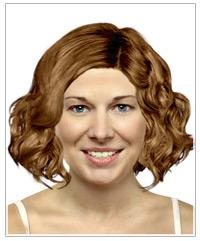 Medium length bob with curls