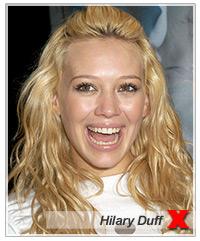 Hilary Duff hairstyles