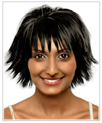 Remarkable The Right Hairstyle For Your Round Face Shape Hairstyles Short Hairstyles Gunalazisus