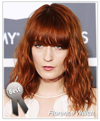 Florence Welch hairstyles