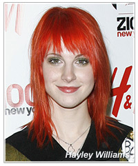 Hayley Williams hairstyles