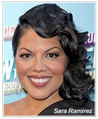 Sara Ramirez hairstyles