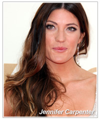 Jennifer Carpenter hairstyles