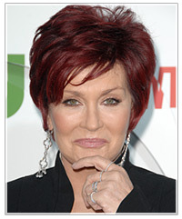 Sharon Osbourne hairstyles