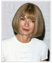 Anna Wintour hairstyles