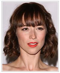 Karine Vanasse hairstyles