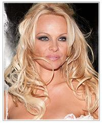 Pamela Anderson hairstyles