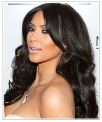 Kim Karsashian hairstyles