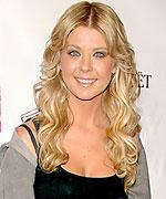 Tara Reid bohemian hairstyle