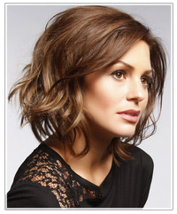 Awesome Short Hairstyle For Wavy Hair Hairstyles Thehairstyler Com Short Hairstyles Gunalazisus