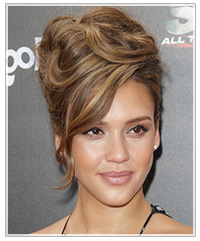 Marvelous Hairstyles For High Foreheads Hairstyles Thehairstyler Com Short Hairstyles Gunalazisus