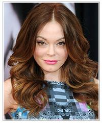 Rose McGowan hairstyles