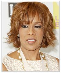 Gayle King hairstyles