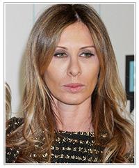 Carole Radziwill hairstyles