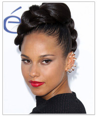 Alicia Keys hairstyles
