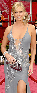 Nancy O'Dell hair and dress