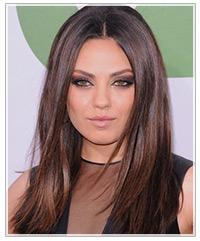 Mila Kunis hairstyles