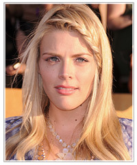 Tremendous Busy Philipps39 Boho Braided 39Do Celebrity Thehairstyler Com Short Hairstyles Gunalazisus