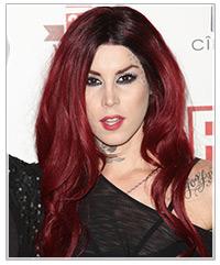 Kat Von D hairstyles