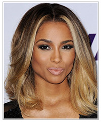 Phenomenal Hairstyle Evolution Ciara39S Ombre Color Hair Color Short Hairstyles For Black Women Fulllsitofus