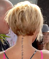 Wondrous Victoria Beckham39S Concave Bob Celebrity Thehairstyler Com Short Hairstyles Gunalazisus