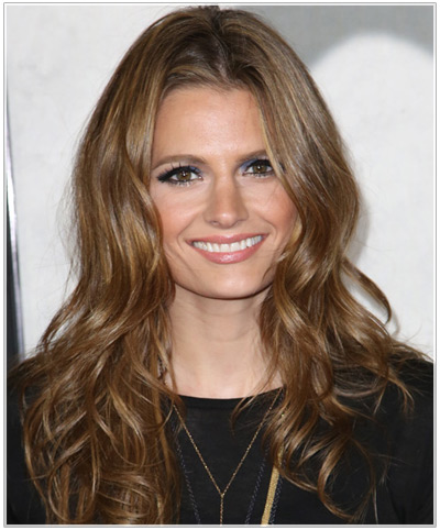 Stana Katic hairstyles