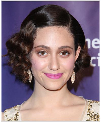 Emmy Rossum hairstyles