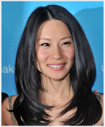 Lucy Liu hairstyles