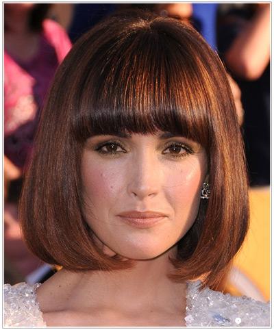 Rose Byrne hairstyles