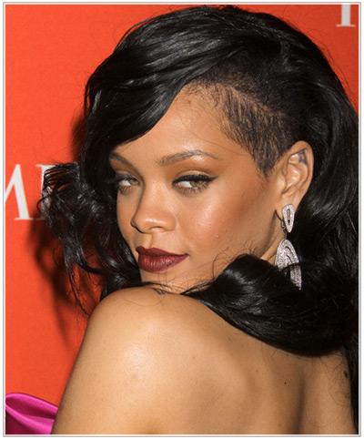 Phenomenal Shaved Hairstyle Ideas Inspired By Rihanna Hairstyles Short Hairstyles Gunalazisus