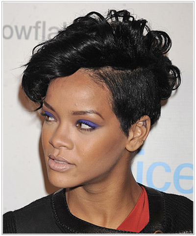 Sensational Shaved Hairstyle Ideas Inspired By Rihanna Hairstyles Hairstyle Inspiration Daily Dogsangcom