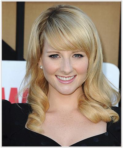 Melissa Rauch hairstyle