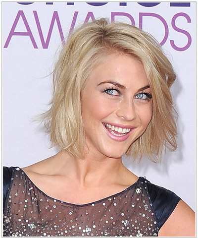 Awe Inspiring Julianne Hough39S Perfect Messy Bob Hairstyles Thehairstyler Com Short Hairstyles For Black Women Fulllsitofus